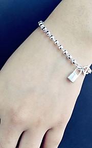 Armbånd Kæde & Lænkearmbånd Sølv Hjerteformet Andre Mode Smykker Gave Sølv,1 Stk.