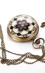 Masculino Mulheres Unissex Relógio Esportivo Relógio Elegante Relógio de Moda Relógio de Pulso Colar com Relógio Quartzo Couro Legitimo