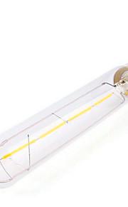 4W E26/E27 Lâmpadas de Filamento de LED Tubo 4 SMD 5730 350 lm Branco Quente Decorativa AC 220-240 V 1 pç