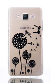 Для Прозрачный Рельефный С узором Кейс для Задняя крышка Кейс для Одуванчик Мягкий TPU для Samsung A5(2016) A3(2016) A5 A3