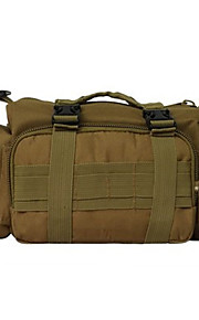 6 L Sling & Messenger Bag Camping & Hiking Outdoor Multifunctional Army Green Camouflage Oxford
