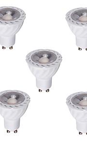 5W GU10 GX5.3 Lâmpadas de Foco de LED MR16 1 COB 480 lm Branco Quente Branco Frio Decorativa AC 220-240 V 5 pçs