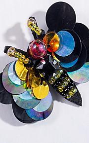 Brocher Butterfly Form Legering Multifarvet Dyredesign Smykker Daglig