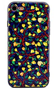 Per Fantasia/disegno Custodia Custodia posteriore Custodia Fiore decorativo Morbido TPU per AppleiPhone 7 Plus iPhone 7 iPhone 6s Plus