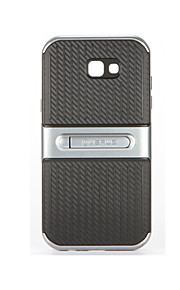 Per Con supporto Custodia Custodia posteriore Custodia Tinta unita Morbido PC per Samsung A5 (2017) A7 (2017)