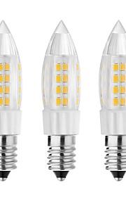 5W E14 G9 G4 LED-lamper med G-sokkel T 44 SMD 3528 500 lm Varm hvit Kjølig hvit Dekorativ AC 220-240 V 3 stk.