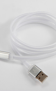 USB 2.0 Tipo C Piatto Cavi Per Samsung Huawei Sony Nokia HTC Motorola LG Lenovo Xiaomi 100 cm PVC
