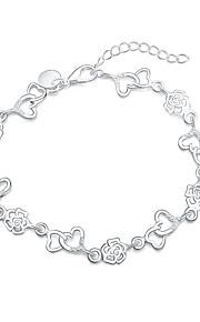 Armbånd Charm-armbånd Sølvbelagt Mode Smykker Gave Sølv,1 Stk.