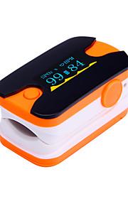 digital de la yema del dedo oxímetro de pulso pulsómetro pantalla OLED azul y naranja