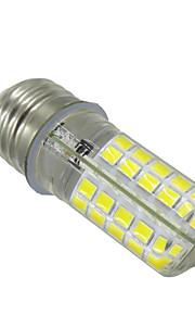 5W E14 G9 BA15D E26/E27 LED Bi-pin 조명 T 80 SMD 5730 400-500 lm 따뜻한 화이트 차가운 화이트 밝기 조절 장식 V 1개