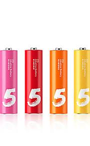 ZMI zi5 aa alkaliskt batteri 6-pack 1.5V