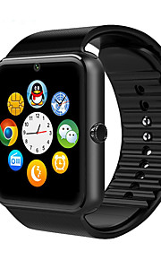 relógios inteligentes mtk6261 cpu 1,54 TFT LCD de 2m câmera cartão Bluetooth para telefone ios android