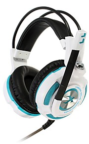 Xiberia k3u gaming hodetelefoner virtuell 7.1 surround stereo bass lys vibrasjon gaming headset med mikrofon hodetelefoner for PC Gamer