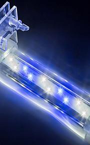 Aquarium Décoration d'aquarium Blanc Bleu Non toxique & Sans Goût Lampe à LED 220V