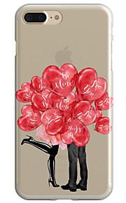 För Genomskinlig Mönster fodral Skal fodral Ballong Mjukt TPU för AppleiPhone 7 Plus iPhone 7 iPhone 6s Plus/6 Plus iPhone 6s/6 iPhone