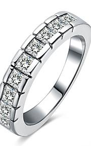 Ringe Rund form Andre Unikt design Geometrisk Mode Personaliseret Euro-Amerikansk Bryllup Fest Speciel Lejlighed Daglig Afslappet Smykker