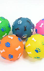 Kissan lelu Koiran lelu Lemmikkieläinten lelut Pallot Purulelut Interaktiivinen Hampaidenpuhdistus lelu Kitisevät lelutKitistä Elastinen