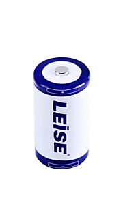 Leise d 5000mAh Ni-MH-batteri tillämplig gasspis / varmvattenberedare 2 förpackningar