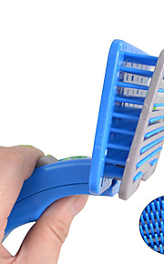 Cat Dog Grooming Health Care Cleaning Brush Brush Waterproof Portable Blue