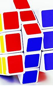 Cubo Macio de Velocidade 3*3*3 Espelhada Cubos Mágicos Arco-Íris Prateada Scrub Etiqueta Lingyun Anti-Abertura Plástico