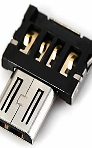 dm usb til micro usb hann OTG-adapteren kompatibel med usb disk / telefon / tablett etc.