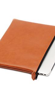 för Apple MacBook Pro / luft 11,6 12 tum 13,3 ärmar laptop väska PU läder vattentät enkel fritid stil datorväska färg