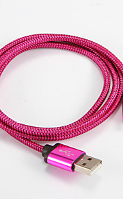 USB 2.0 Tipo C Portatile Cavi Per Samsung Huawei Sony Nokia HTC Motorola LG Lenovo Xiaomi 100 cm Alluminio