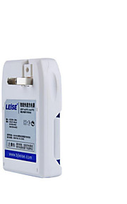 LEISE804 Smart Fast Charger Kit (AA2  AAA2  4-Slot Charger) Toy/Mouse Keyboard Battery