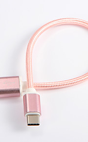 USB 2.0 Tipo C Intrecciato Cavi Per Samsung Huawei Sony Nokia HTC Motorola LG Lenovo Xiaomi 20 cm Nylon