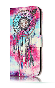 For Samsung Galaxy A5(2017) A3(2017) PU Leather Material Butterfly Chimes Pattern Painted Phone Case A5(2016) A3(2016)