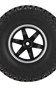 Geral RC Tires Pneu RC Carros / Buggy / Caminhões Vermelho Preto Borracha pet Plástico 4PCS