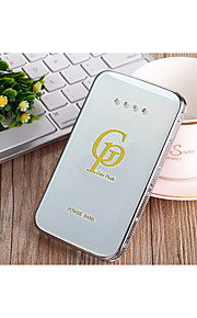 12000mAh The New Fashion Set Auger Ultrathin Crystal  Power Supply