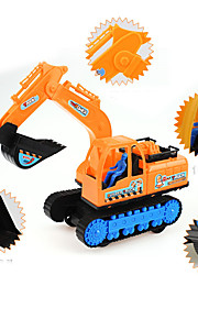 Construction Vehicle Farm Vehicle Toys Car Toys 1:25 Plastic Yellow Model & Building Toy