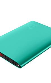 SOLOVE20000mAh power bank  1A 2.1A external battery Multi-Output with Cable