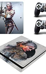 B-Skin Klistermärke För PS4 Slim Nyhet