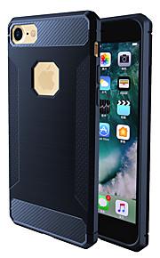 Per Resistente agli urti Custodia Custodia posteriore Custodia Tinta unita Morbido TPU per AppleiPhone 7 Plus iPhone 7 iPhone 6s Plus