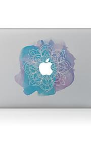 1枚 傷防止 フラワー 透明ベースプラスチック ボディーステッカー パターン のためにMacBook Pro 15'' with Retina MacBook Proの15 '' MacBook Pro 13'' with Retina MacBook Proの13 ''