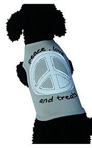 犬用品 Tシャツ 犬用ウェア 夏 ゼブラプリント キュート ファッション カジュアル/普段着 グレー