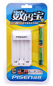 PISEN AAA Nickel Metal Hydride Rechargeable Battery 1.2V 800mAh 2 Pack