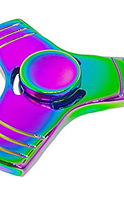 Fidget spinners Hilandero de mano Juguetes Tri-Spinner Metal EDCAlivio del estrés y la ansiedad Juguetes de oficina Alivia ADD, ADHD,