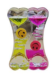 Brinquedos Para meninos Brinquedos de Descoberta Ampulheta Plástico