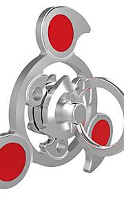 hånd Spinner Snurrebass Leker Leketøy Tri-Spinner Ring Spinner Gear Spinner Leketøy Metall Aluminium EDCHoldbar Luksus Nyhet Dreie Stress