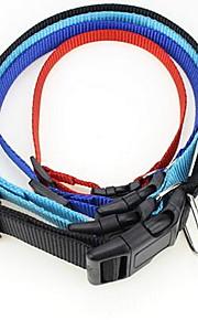 Collare di sicurezza di formazione fiore arcobaleno di nylon