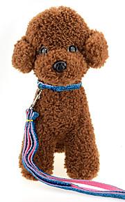 Wysokiej jakości moda złote wstążki kolczyki psów materiał nylonowy pies sznurek trakcyjny kot pies uprząż akcesoria dla zwierząt domowych