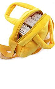 1Pcs  Cute Emoji Portable Handbags Packaging Storage Bags Picnic Shoulder Bags