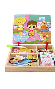 puslespil GDS-sæt Puslespil Puslespil og logisk tænkning legetøj Byggesten Gør Det Selv Legetøj Firkantet 1 Papir Træ Hobbylegetøj