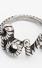 Båndringe Ring SmykkerEnkelt design Unikt design Logo Perle Lyserød minimalistisk stil USA Holdbar Britisk Mode Klassisk Vintage Elegant