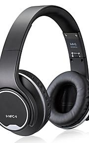 Nfc 2in1 torsión-hacia fuera auricular del bluetooth del altavoz con la radio de FM / aux / tf tarjeta mp3 deportes cabeza mágica