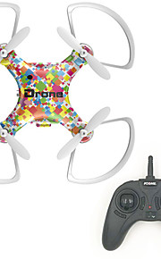 Drone RC 4CH 6 Eixos 2.4G - Quadcópero com CRIluminação De LED Retorno Com 1 Botão Modo Espelho Inteligente Vôo Invertido 360° Estação