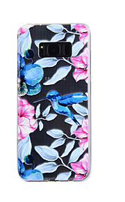 Para samsung galáxia s8 mais s8 caso tampa kingfisher padrão gota cola verniz alta qualidade tpu material telefone caso s7 borda s7 s5